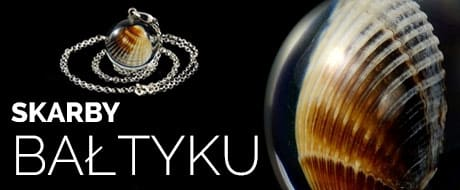 biżuteria srebrna skarby bałtyku