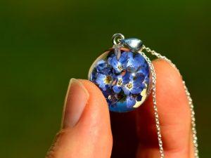 niezapominajki biżuteria