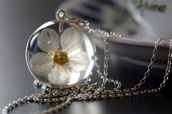 biżuteria z żywicy święta prezent